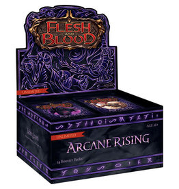 Legend Story Studios Flesh and Blood TCG Arcane Rising Unlimited Booster Display