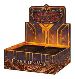 Legend Story Studios Flesh and Blood TCG Crucible of War 1st Edition Booster Box