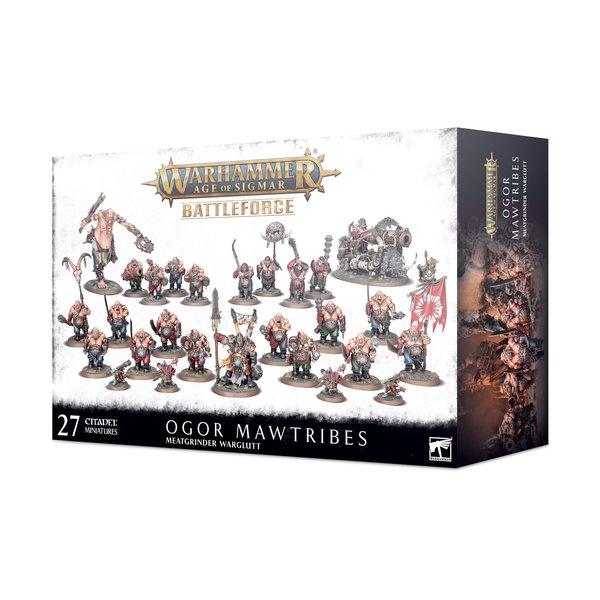 Warhammer Age of Sigmar Ogor Mawtribes Battleforce – Meatgrinder Warglutt