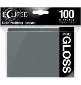 Ultra Pro Eclipse Gloss Standard Sleeves Smoke Grey