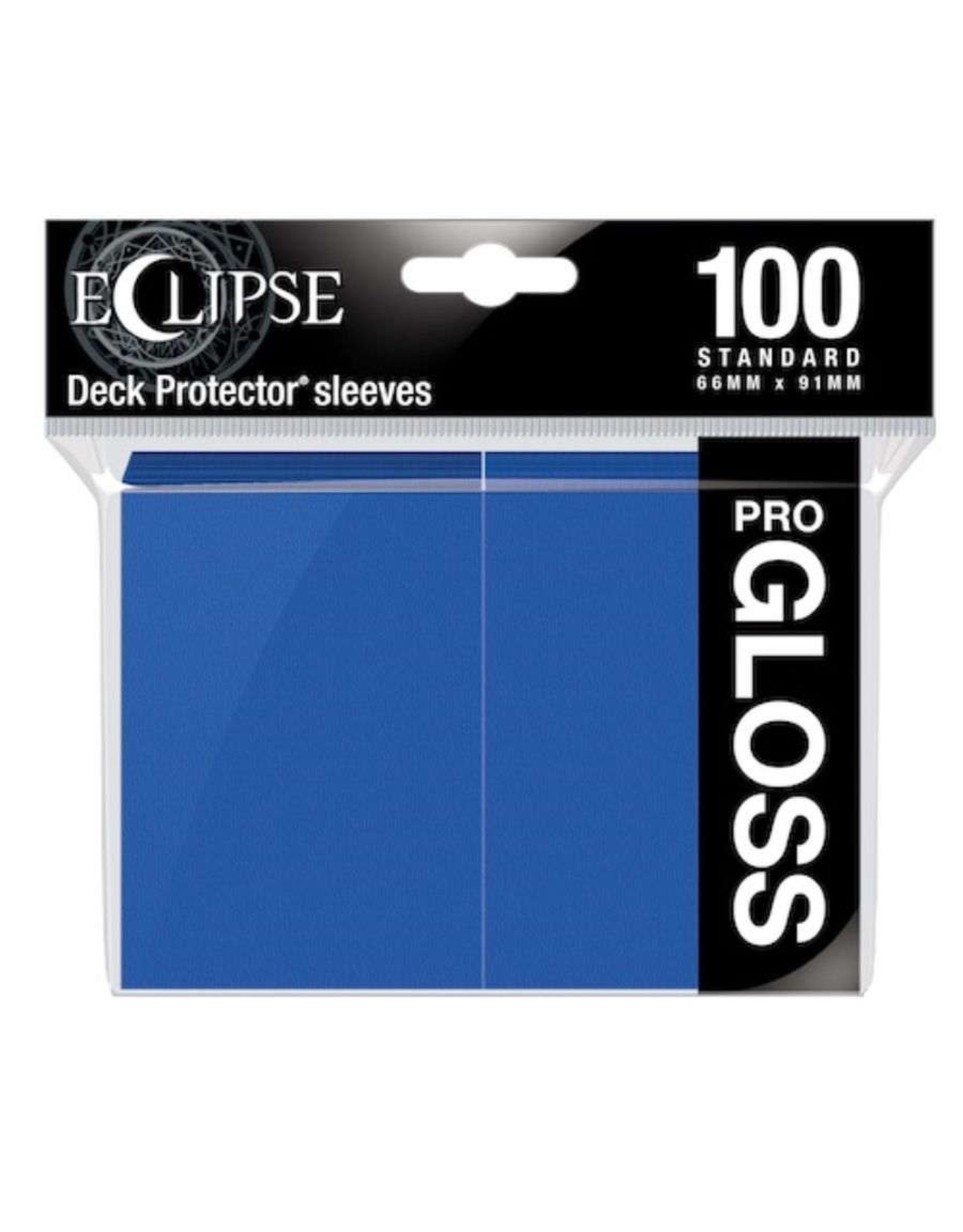 Ultra Pro Eclipse Gloss Standard Sleeves Pacific Blue