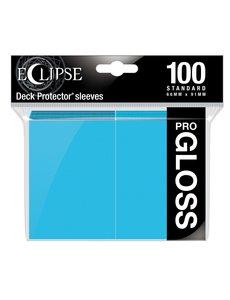 Ultra Pro Eclipse Gloss Standard Sleeves Sky Blue