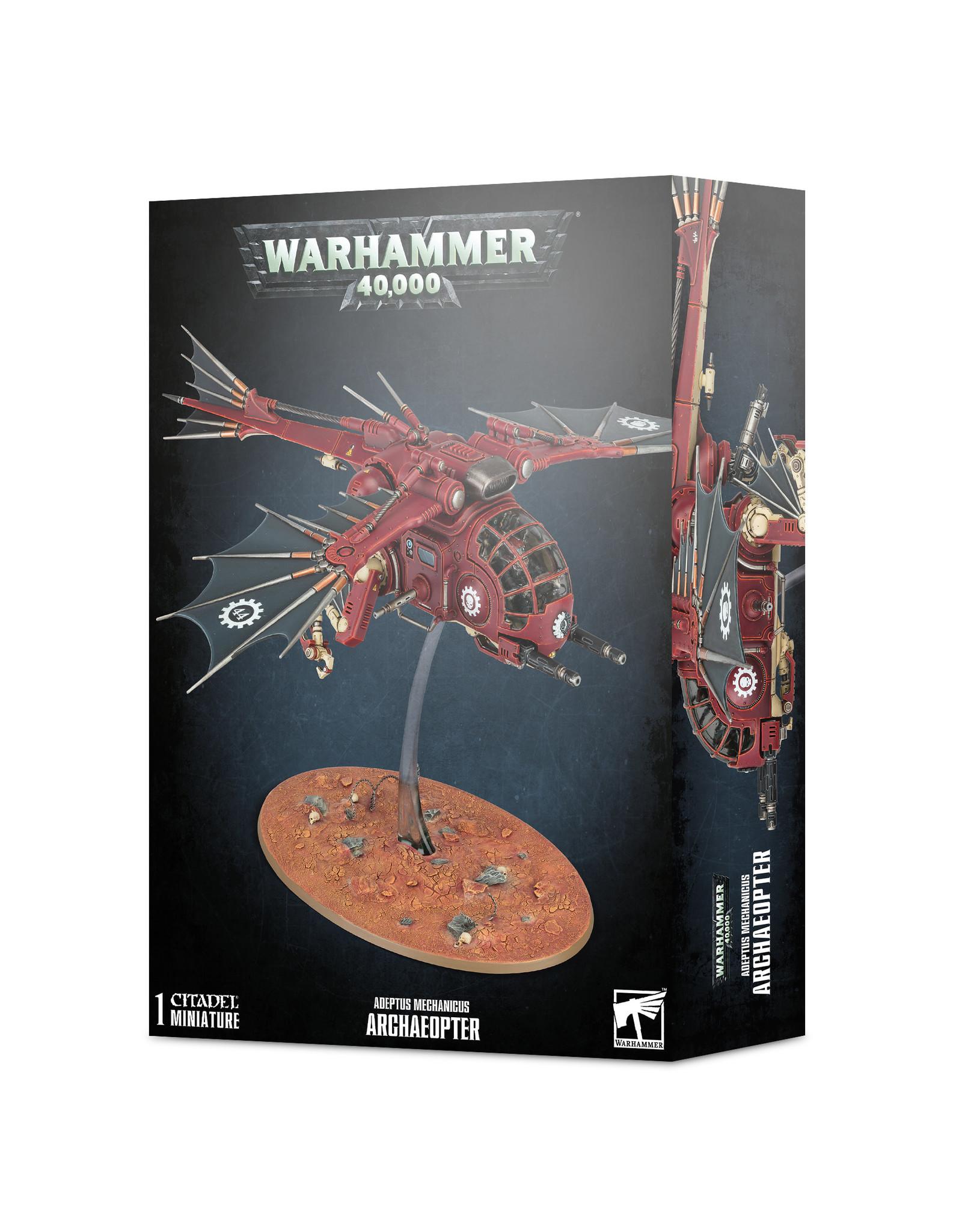 Warhammer 40,000 Adeptus Mechanicus: Archaeopter