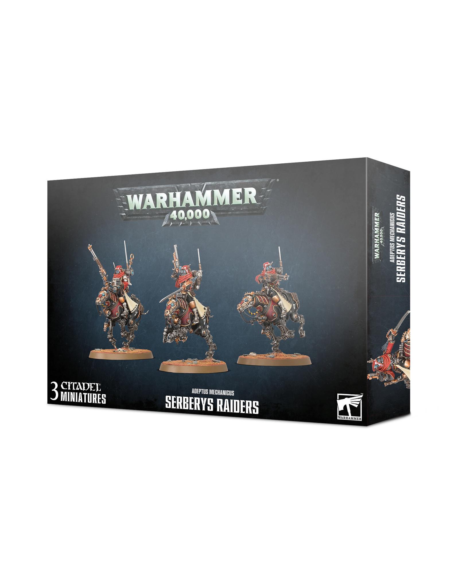Warhammer 40,000 Adeptus Mechanicus: Serberys Raiders