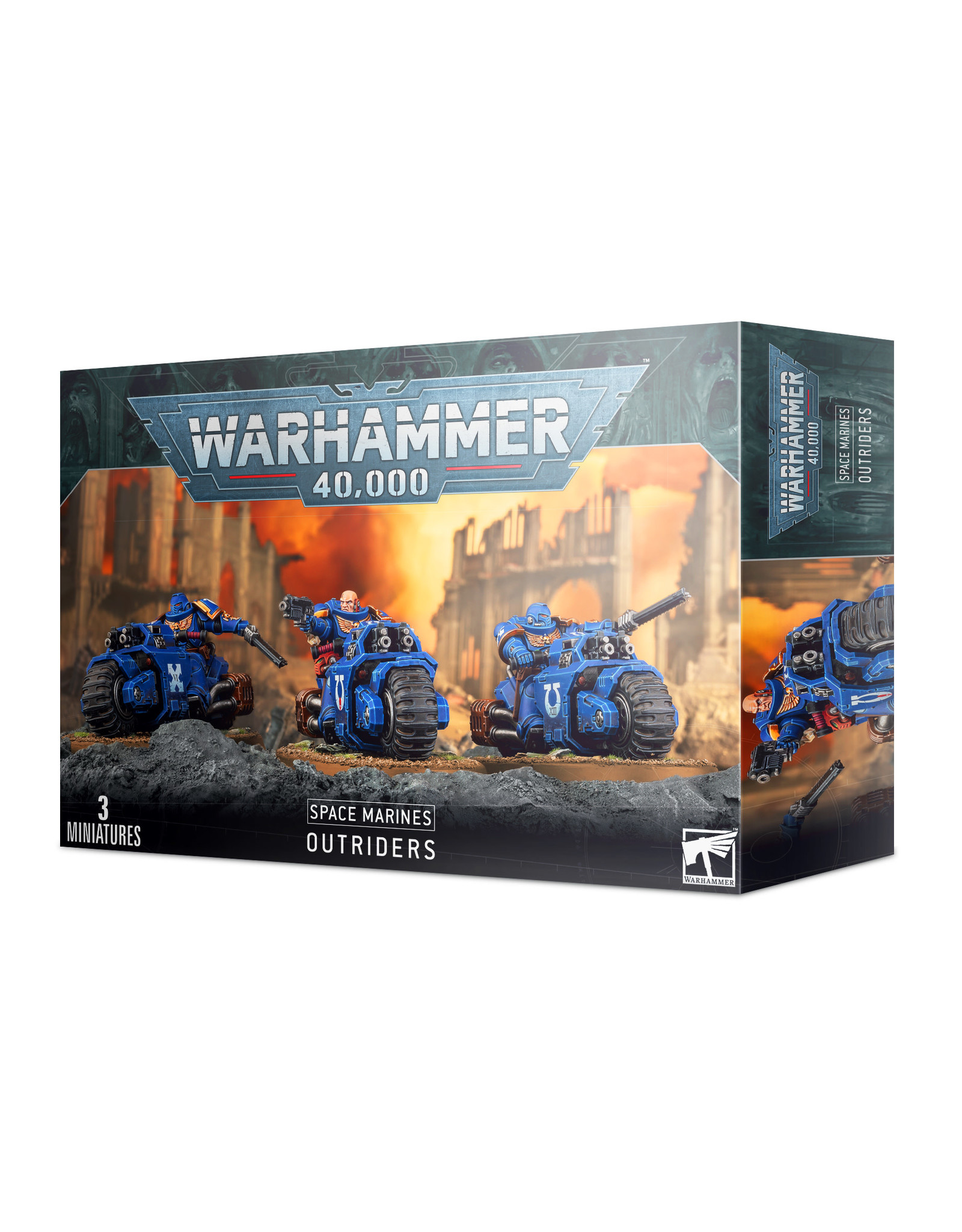 Warhammer 40,000 Space Marines: Outriders