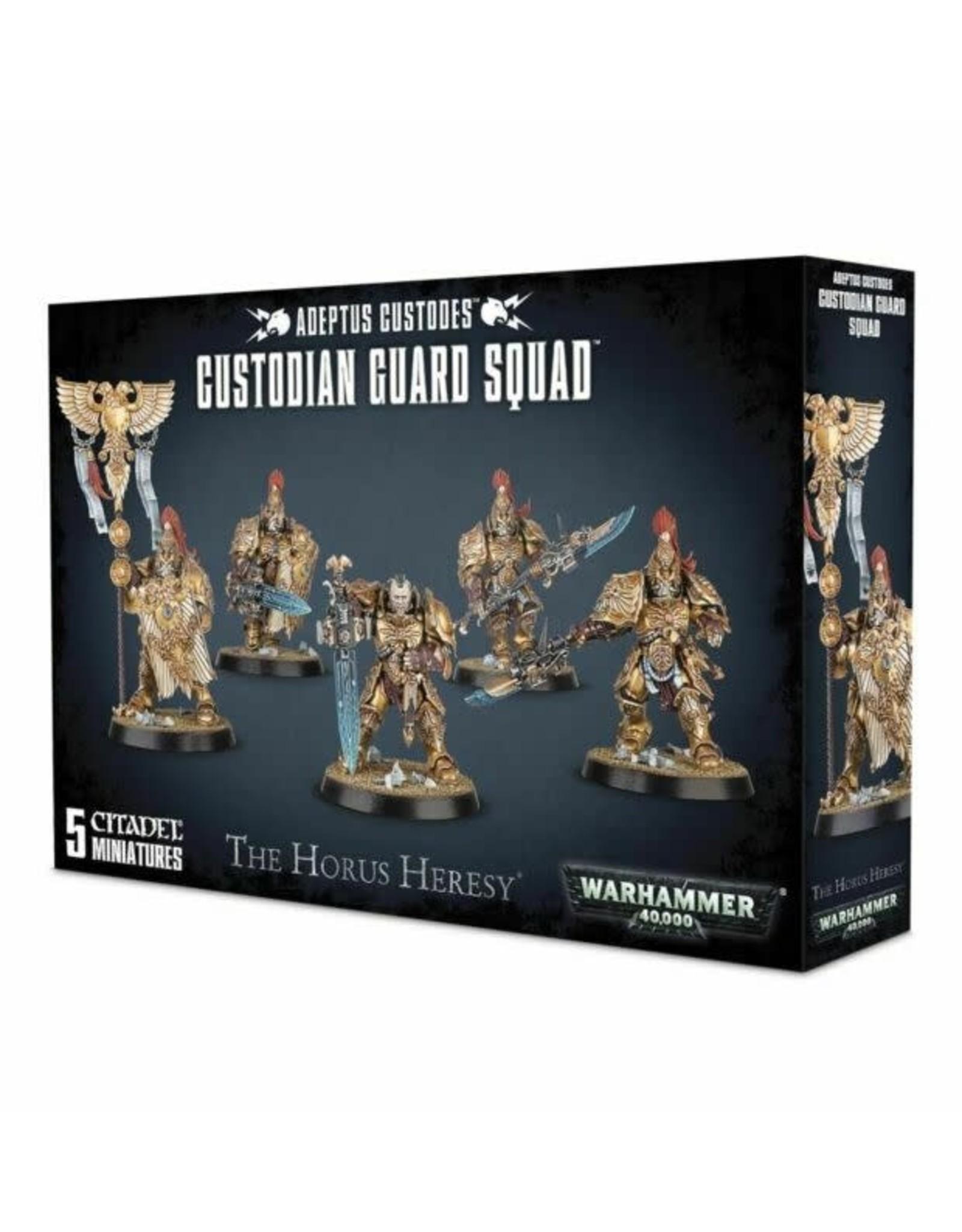 Warhammer 40,000 Adeptus Custodes: Custodian Guard Squad