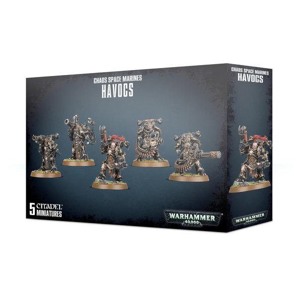 Warhammer 40,000 Chaos Space Marines: Havocs