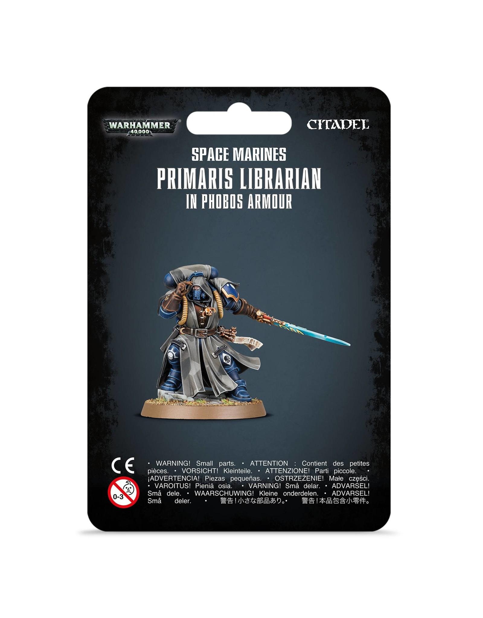 Warhammer 40,000 Space Marines: Primaris Librarian in Phobos Armour