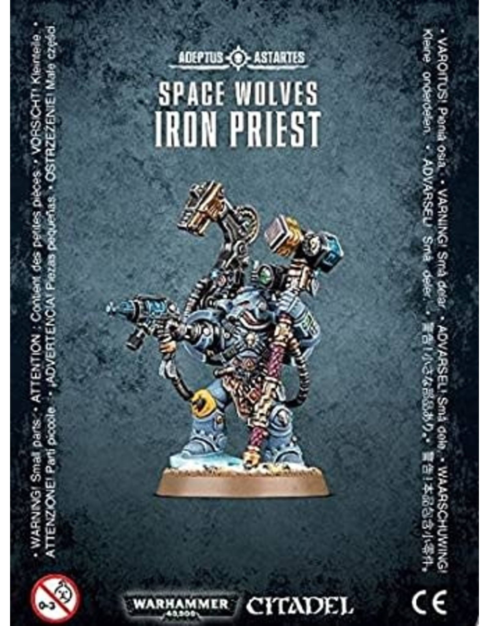 Warhammer 40,000 Space Wolves: Iron Priest