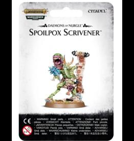 Warhammer Age of Sigmar Spoilpox Scrivener