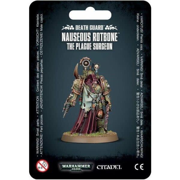 Warhammer 40,000 Death Guard: Nauseous Rotbone the Plague Surgeon