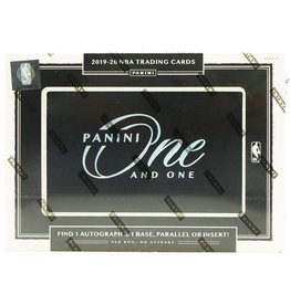 Panini 2019/20 Panini One and One Basketball Hobby Box