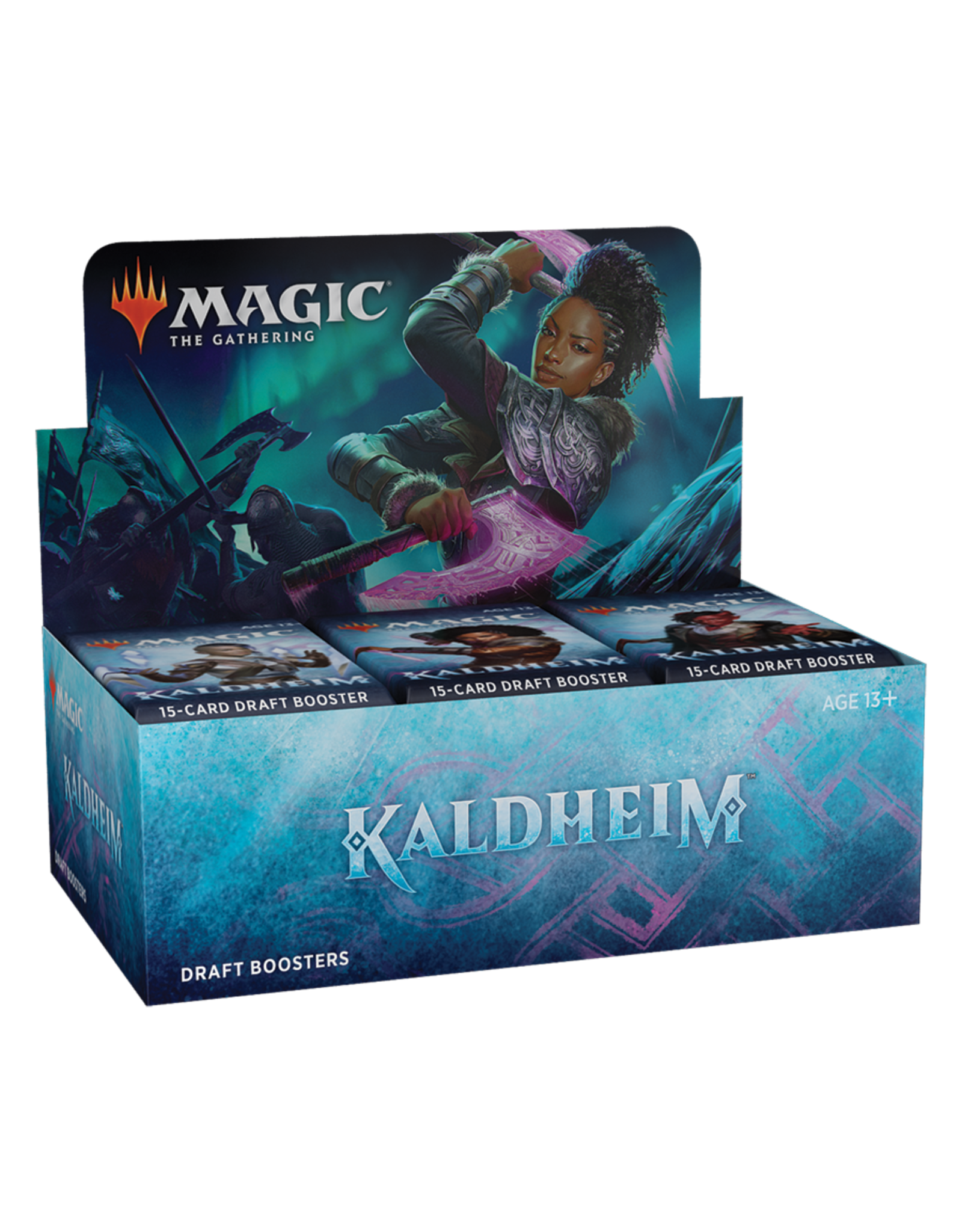 Magic: The Gathering Kaldheim - Draft Booster Box