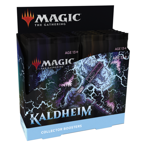 Magic: The Gathering Kaldheim - Collector Booster Display