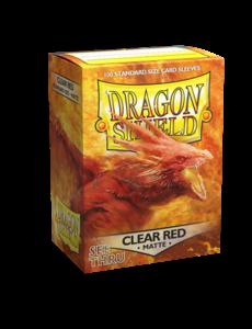 Arcane Tinmen Dragon Shield Clear Red Matte 100 Standard