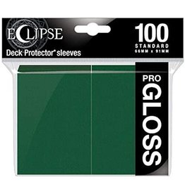 Ultra Pro Eclipse Gloss Standard Sleeves Forest Green