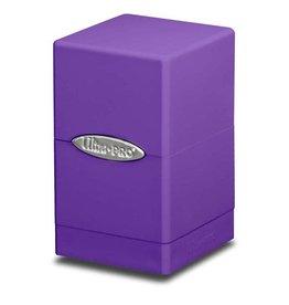 Ultra Pro Satin Tower Deck Box Purple