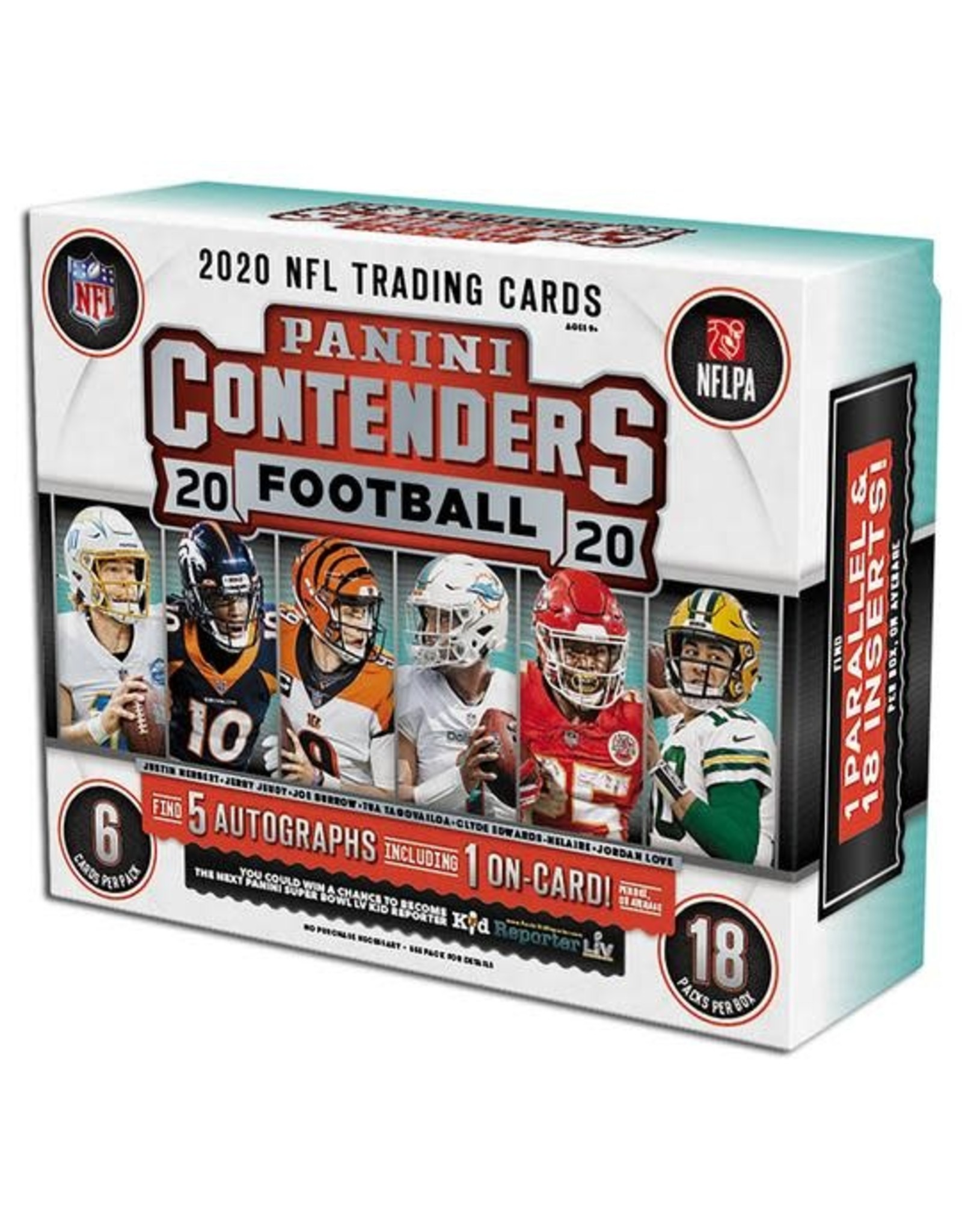 Panini 2020 Panini Contenders Football Hobby Box
