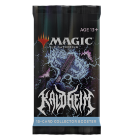 Magic: The Gathering Kaldheim - Collector Booster Pack
