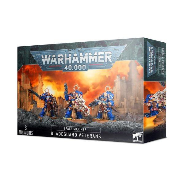 Warhammer 40,000 Space Marines: Bladeguard Veterans