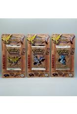 Pokemon 3 Unlimited Fossil Blister Packs Art Set
