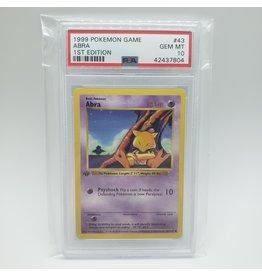 Pokemon Abra 1st Edition Base Set PSA 10