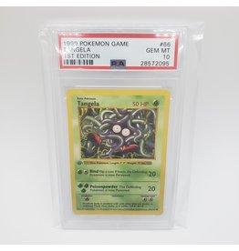 Pokemon Tangela 1st Edition Base Set PSA 10
