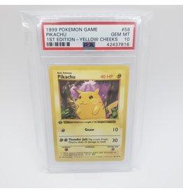 Pokemon Pikachu - Yellow Cheeks 1st Edition Base Set PSA 10