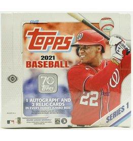 Topps 2021 Topps Series 1 Baseball Hobby Jumbo Box