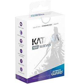 Ultimate Guard Katana Sleeves 100 White