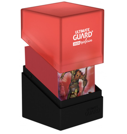 Ultimate Guard Boulder 100+ Black/Red (2020 Exclusive)