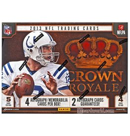 Panini 2013 Panini Crown Royale Football Hobby Box
