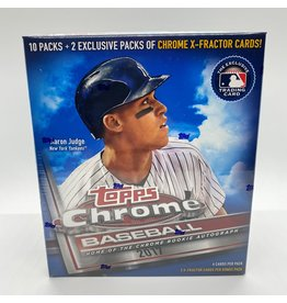 Topps 2017 Topps Chrome Baseball Mega Monster Box