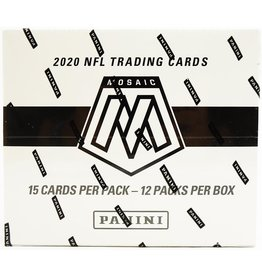 Panini 2020 Panini Mosaic Football Multi/Cello Pack Box