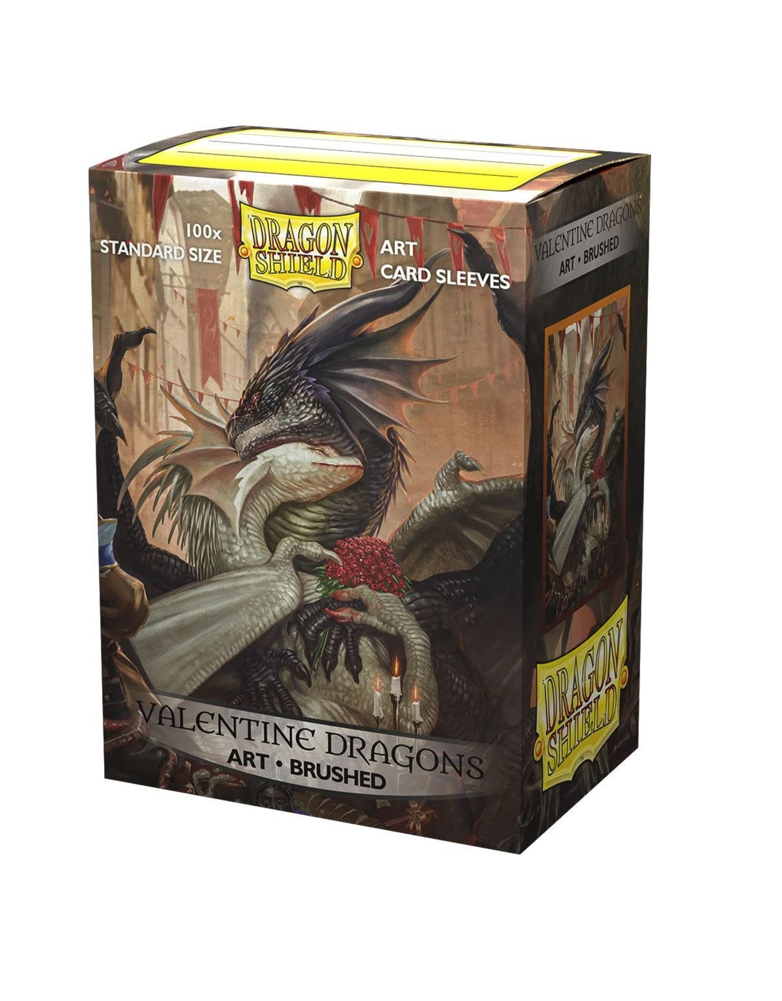 Arcane Tinmen Dragon Shield Valentine Dragons 2021' Art Sleeves Brushed 100 Standard