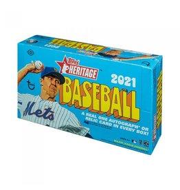 Topps 2021 Topps Heritage Baseball Hobby Box