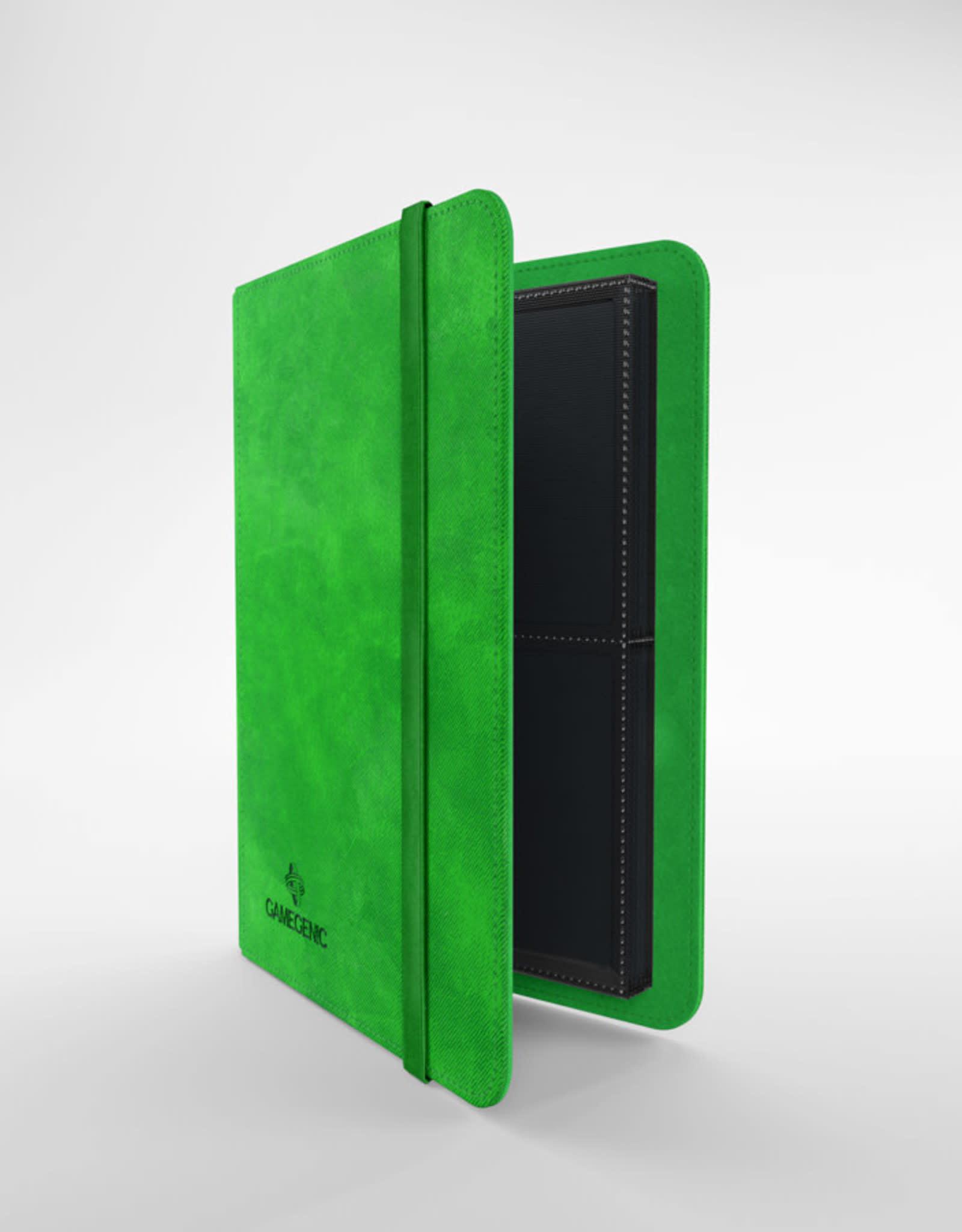 Gamegenic Prime Album 8-Pocket Green