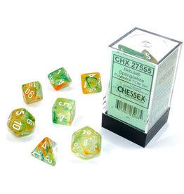 Chessex Nebula Spring/white Polyhedral 7-Die Set