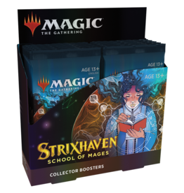 Magic: The Gathering Strixhaven: School of Mages - Collector Booster Display