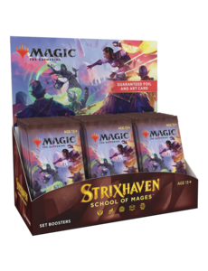 Magic: The Gathering Strixhaven: School of Mages - Set Booster Display