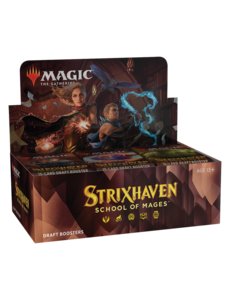 Magic: The Gathering Strixhaven: School of Mages - Draft Booster Box