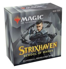 Magic: The Gathering Strixhaven: School of Mages - Prerelease Pack [Silverquill]