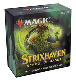 Magic: The Gathering Strixhaven: School of Mages - Prerelease Pack [Witherbloom]