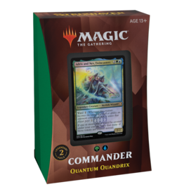 Magic: The Gathering Commander 2021 Deck - Strixhaven - Quantum Quandrix