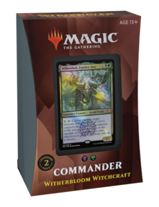 Magic: The Gathering Commander 2021 Deck - Strixhaven - Witherbloom Witchcraft