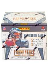 Panini 2013 Panini Prominence Football Hobby Box