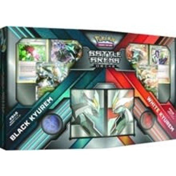 Pokemon Battle Arena Decks: Black Kyurem EX vs White Kyurem EX