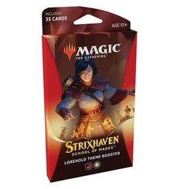 Magic: The Gathering Strixhaven: School of Mages - Theme Booster Pack [Lorehold]