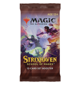 Magic: The Gathering Strixhaven: School of Mages - Set Booster Pack