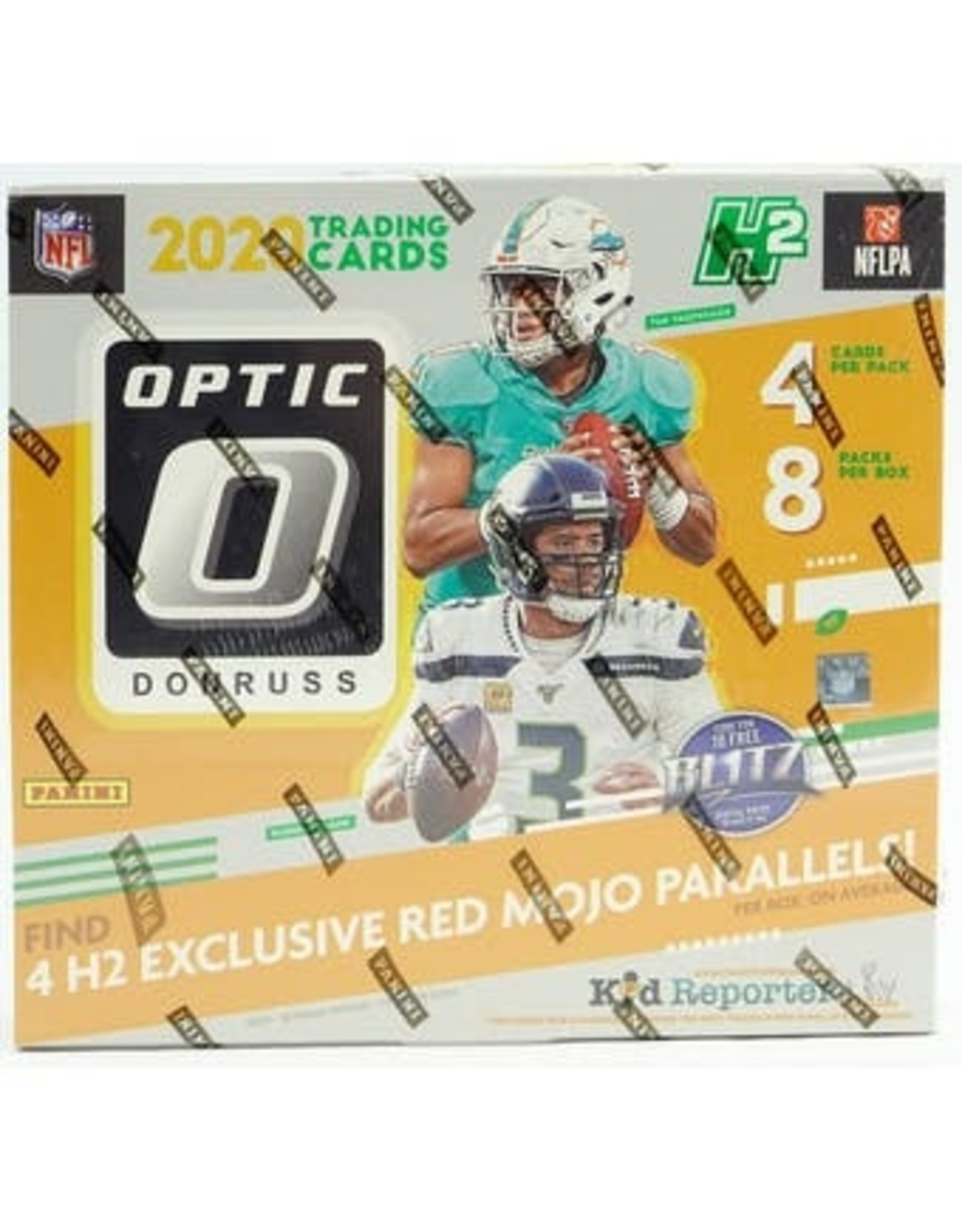 Panini 2020 Panini Donruss Optic Football Hobby Hybrid Box